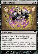 *MRM* FR 4x Sceau du destin ( Seal of Doom ) MTG Dissension