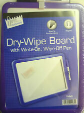 Red, Purple or Blue Edged A4 White Board (Free Dry Wipe Pen) Magnetic Hanging
