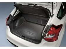 2012 2013 FORD FOCUS OEM FACTORY REAR BLACK REAR CARGO MAT WITHOUT SUBWOOFER 5DR