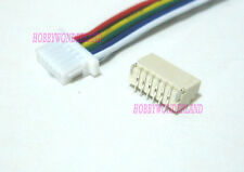 JST 1.0mm SH 6-Pin Connector Housing with wire 28AWG & Top Entry Header 10 SETS