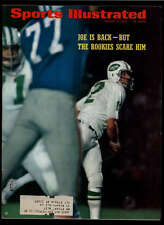 1969 SPORTS ILLUSTRATED JOE IS BACK , BUT THE ROOKIES SCARE HIM LOT1092