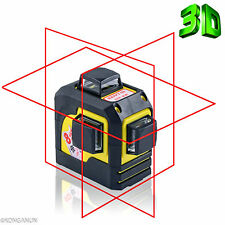 3D Red Laser Level Self Leveling 12 Lines 360 Degree Horizontal & Vertical Cross