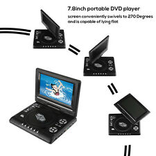"9.8"" Portable DVD Player with Rechargeable Battery, SD Card Slot and USB Port"