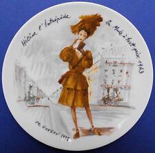 Francois Ganeau, Les femmes D. S., Francia, porcellane piatto, disponibilità limitata, Top +++