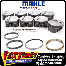 MAHLE PISTONS SBC Small Chevy Flat Top 383ci 4.030-bore 3.750-stroke 6.000-rod