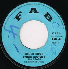 "fab 7"" : PRINCE BUSTER-rough rider  (hear)     boss rock steady reggae"