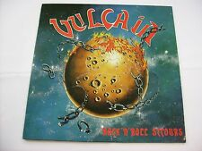 VULCAIN - ROCK'N'ROLL SECOURS - LP VINYL 1984 EXCELLENT CONDITION