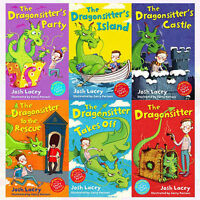 The Dragonsitter series Collection Josh Lacey 6 Books Set Dragonsitter's Party