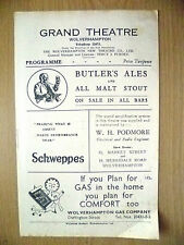Grand Theatre 1947- WE PROUDLY PRESENT by Ivor Novello