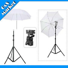 "speedlite umbrella lighting photography kit light stand+Bracket B+33"" umbrella"