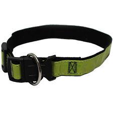 Hundehalsband Blinkhalsband reflektierend Sicherheitshalsband Leuchthalsband