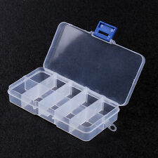 3pcs 10 Compartment Beads Small Organizer Fake Nails Craft Box Storage Fishing