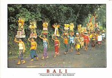 BG9675 procession to the temple alas kedaton folklore  types   bali  indonesia