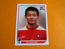 518 YONG-HAK COREE NORD DPR PANINI FOOTBALL FIFA WORLD CUP 2010 COUPE MONDE