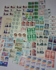 Mint 100 of $0.22 US Postage Stamps, Multiples and Singles.  FV = $22.00