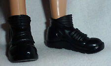* SHOES ~ MODEL MUSE KEN DOLL DIVERGENT FOUR BLACK BLACK SNEAKER BOOTS ACCESSORY