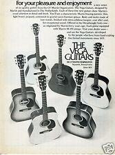 1976 CF Martin Vega Guitar Print Ad
