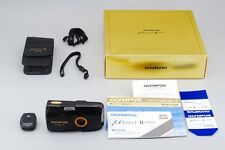 【Rare!】 Olympus Mju II Limited Edition 35mm Compact Film Camera w/Gold Box #2185