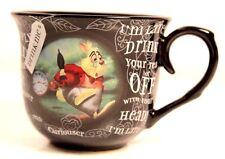 Alice In Wonderland Cup Disney Coffee Tea Queen Hearts White Rabbit Replacement
