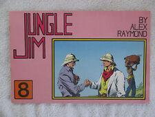 Jungle Jim #8 Alex Raymond Sunday Pages Feb 16-May 3 1936 Microlito Comics VF-