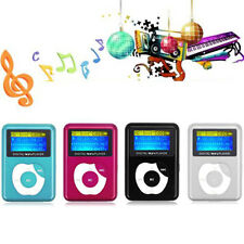 MP3 Music Player USB Digital LCD Screen Metal Support 2 To 32GB Micro SD TF Card