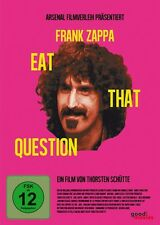 FRANK ZAPPA-EAT THAT QUESTION - DOKUMENTATION   DVD NEU