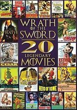 Wrath of the Sword - 20 Legendary Movies, Very Good DVD, Richard Harrison, Buste