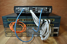 Cisco CCENT CCNA CCNP 1721 2610XM CME 4.0 HOME LAB KIT BEST & CHEAP LAB ON EBAY