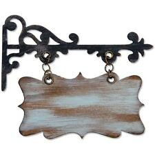 Tim Holtz Alterations - Sizzix - Bigz Die Hanging Sign