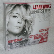 LeAnn Rimes Greatest Hits & Dance Like You Don't Give A Taiwan Ltd 2-CD w/BOX