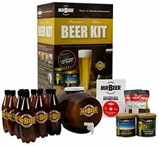 Home Brewing Starter Kit Mr. Beer Premium Gold Edition Craft Beer Set