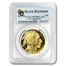 2013-W 1 oz Proof Gold Buffalo Coin - PR-69 Black Diamond PCGS - SKU #79927