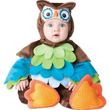 New What A Hoot Infant Toddler Costume Jumpsuit 12 to 18 Months Halloween Owl