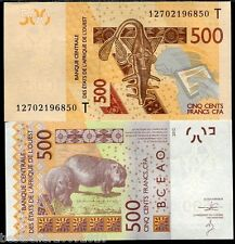 WEST AFRICAN STATES TOGO 500 FRANCS UNC # 527