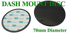 70MM UNIVERSAL ROUND DASHBOARD MOUNTING DISC -- FREE UK STD POST