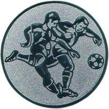 12 Embleme D:50mm Fußball 2 (Medaillen Pokale Pokal Emblem Jugend Turnier)