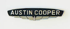 "Classic Mini Mk 1 ""Austin Cooper"" Chrome Cast Metal Badge, BMC part; 24A71"
