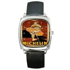 MICHELIN MAN BIBENDUM REPRO VINTAGE POSTER WRISTWATCH **NEW ITEM**