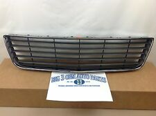 2006-2011 Chevrolet Impala Front Lower Black GRILLE w/ Chrome Trim OEM 10333711