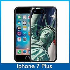 Statue Of Liberity With USA Flag For Iphone 7 Plus (5.5) Case Cover By Atomic Ma