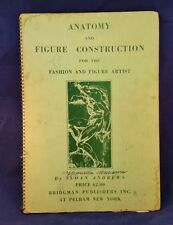 Vintage Drawing Book-1935 Anatomy & Figure Construction