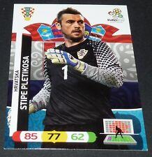 STIPE PLETIKOSA HRVATSKA CROATIE FOOTBALL CARD PANINI UEFA EURO 2012