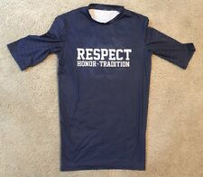 2015 TEAM ISSUED/GAME WORN NOTRE DAME FOOTBALL VS NAVY RESPECT UNDERSHIRT #3 MED