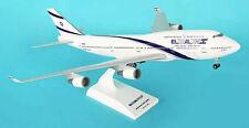 El Al Boeing 747-400 1:200 SkyMarks Flugzeug Modell SKR488 ElAl B747 NEU