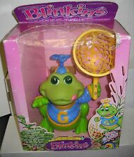 #5509 NIB Vintage LJN Blinkins Grog the Frog Foreign Package