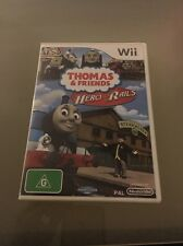 Thomas and Friends: Hero of the Rails Wii Game AUS PAL Complete - MINT Disc..