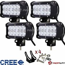 "4x 7"" inch CREE 36W LED Light Bar Work Spot Offroad Boat UTE Car Truck ATV"