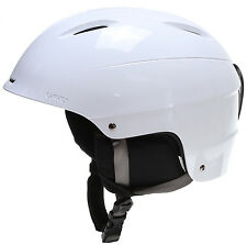 NEW Giro S5 Bevel White Mens Large 59-62.5 Ski Snowboard Helmet +HAT 2016 Ret$95