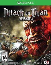 NEW Attack on Titan (Microsoft Xbox One, 2016)