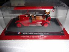 1:43 FIRE TRUCK MODEL FRANCE 1923 DEPART INCENDIE DION BOUTON NEUF BOITE